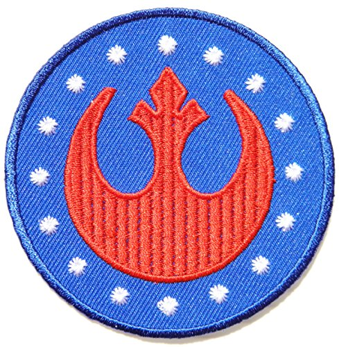 New Republic Order Star Wars Cartoon Comic Logo Patch Sew Iron on Embroidered Applique Collection Costumes DIY By ()