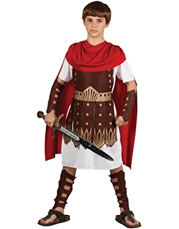 07344c8e4 Kids Boys Roman Centurion Large (8-10 years) Gladiator Sparticus Fancy  Dress Costume