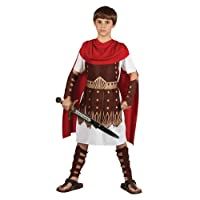Kids Boys Roman Centurion Large (8-10 years) Gladiator Sparticus Fancy Dress Costume