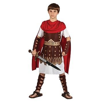 Traje del Disfraz del Partido de la Víspera de todos los Santos de muchachos Roman Gladiator Centurion 5 - 7 años (disfraz)