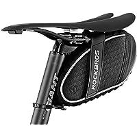 Bolsillo para sillín de bicicleta RockBros, impermeable en lluvia ligera