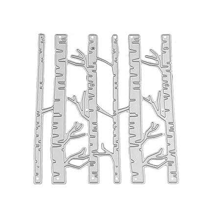 Birch Forest Cutting Dies Stencil DIY Scrapbooking Embossing Album Paper Crafts