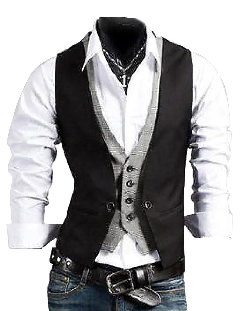 Casual Slim Fit Skinny Dress Vest Waistcoat at Amazon Women's ...