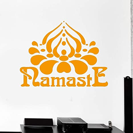 Tatuajes de pared Namaste Hinduismo Yoga Hindú India ...