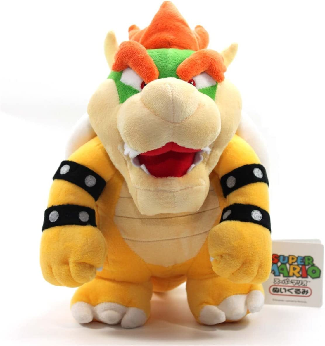 "B00OXR2INI TinTek 10"" Super Mario Brothers Standing King Bowser Soft Stuffed Animal Plush Doll Figure Toy 10 Inches 616khVSA02L"