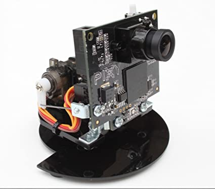 Pan / Tilt Servo Motor Kit para Pixy (CMUcam5) - 2 Eje de montaje
