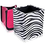 SHANY 2-in-1 Patterned Makeup Brush Holder with Removable - Best Reviews Guide