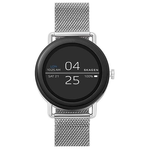 Skagen Reloj Digital para Unisex de Cuarzo con Correa en Acero Inoxidable SKT5000: Amazon.es: Relojes