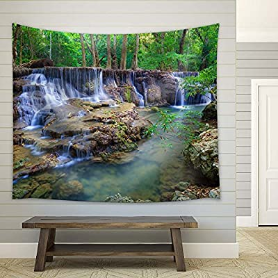 Majestic Composition, Created Just For You, Cascading Waterfalls in The Rainforest
