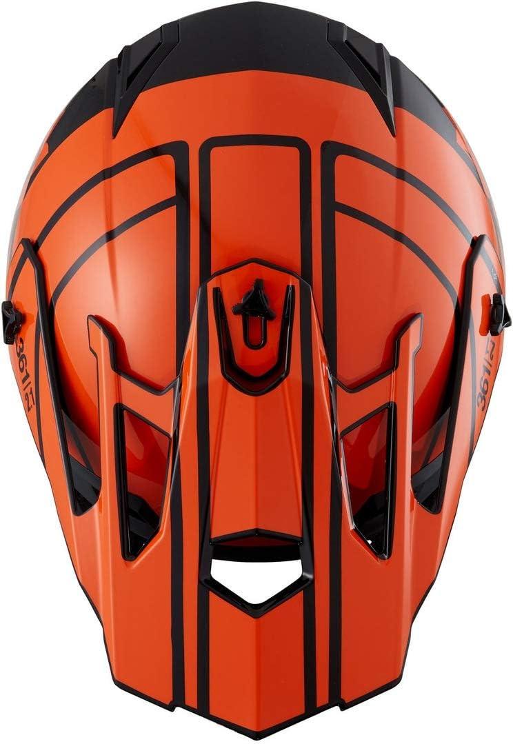 53//54 IXS 361 2.1 Motocross Helm Schwarz Matt//Blau XS
