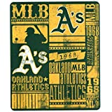 MLB Strength Fleece Throw Blanket 50 x 60