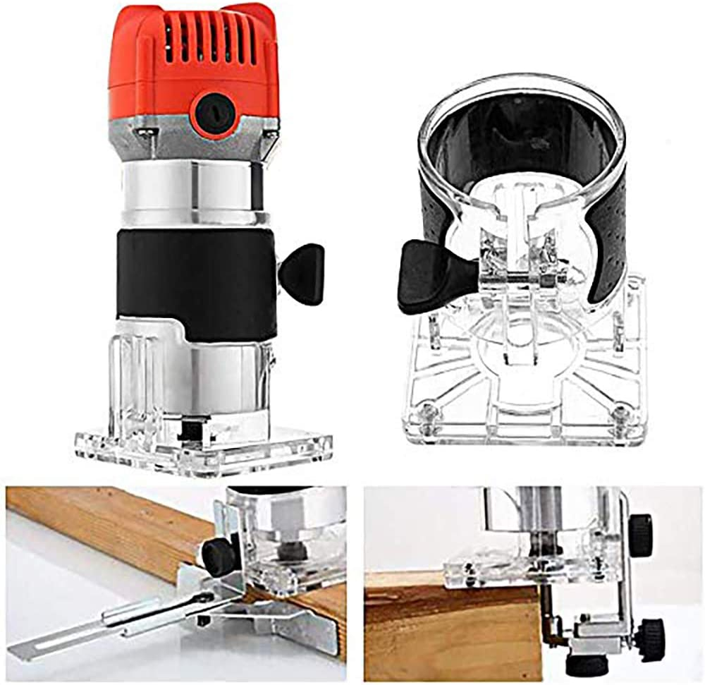800W 30000r//min Elektrische Oberfr/äsen f/ür Holzbearbeitung Holzbearbeitung Elektrische Laubschneider Gravur Einhandfr/äse