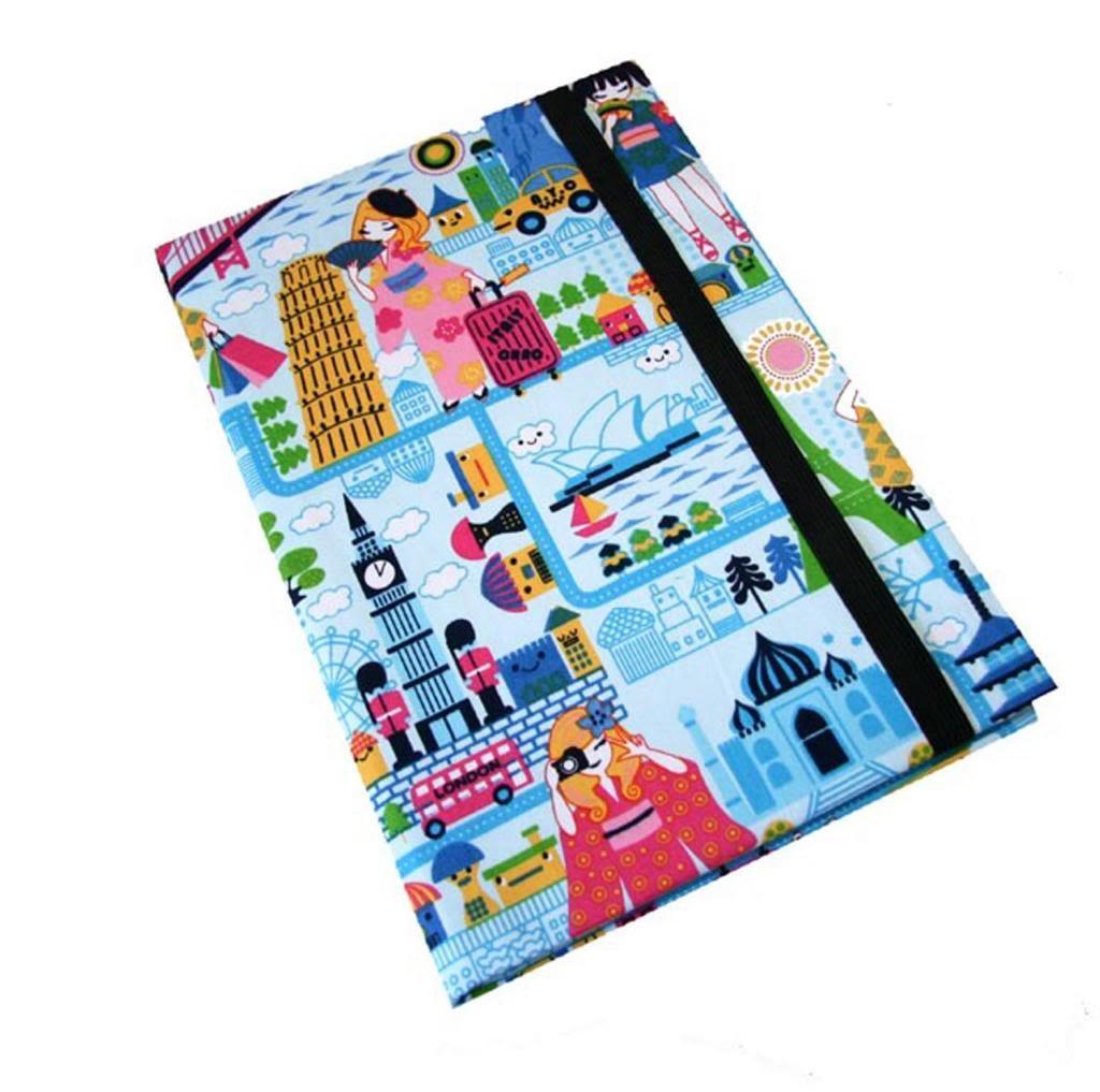 iPadケースNew York for Ipad Pro 9.7 by FABULEUX Around the World Japanese Girl Kawaiiトラベルカバー   B072W3CZSF