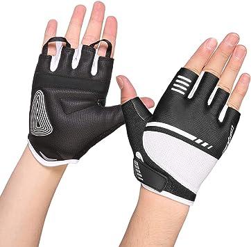 Friction Cycling Gloves MTB Bike Half Finger Gloves Short Finger Sports Gloves