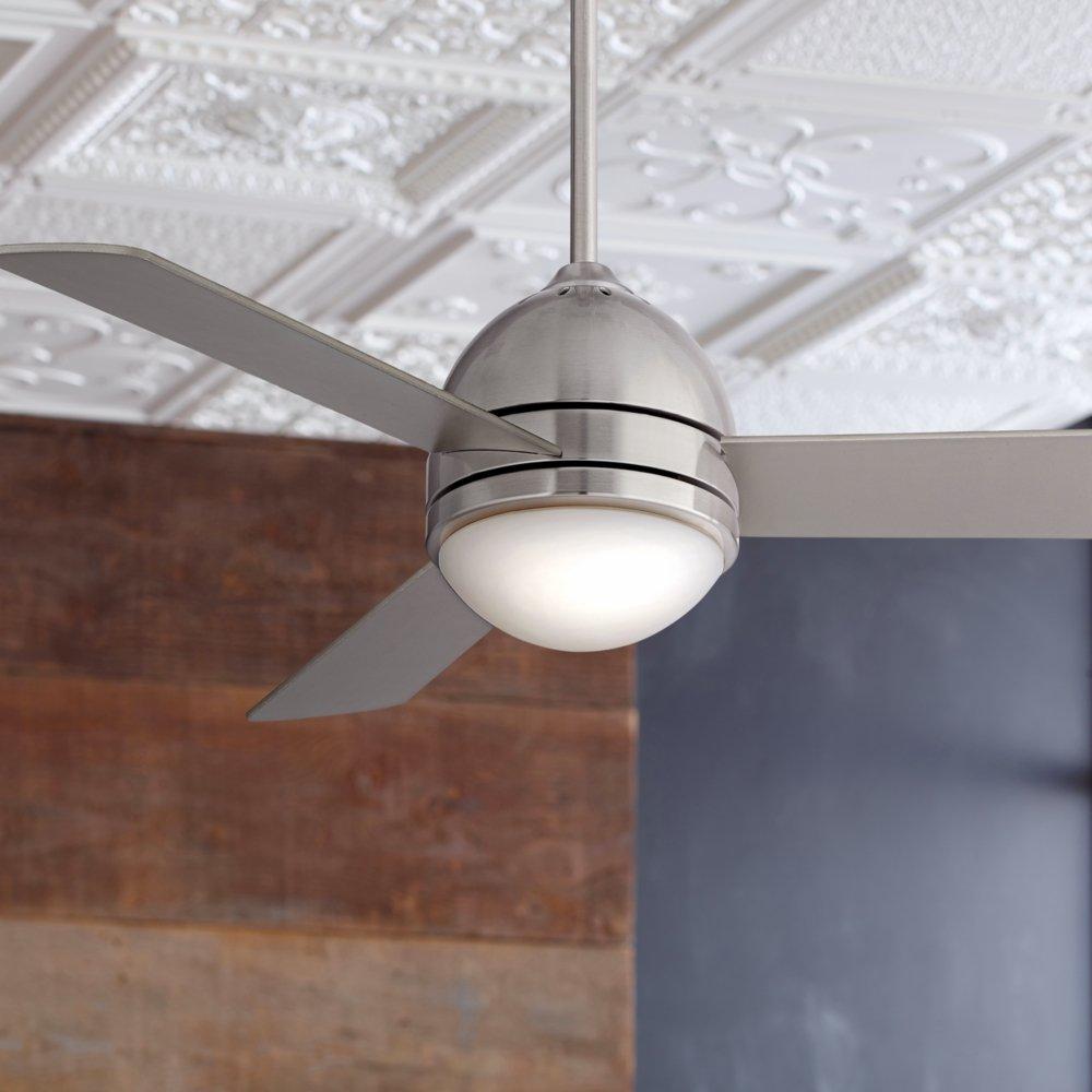 44 casa vieja trifecta brushed nickel ceiling fan amazon aloadofball Choice Image