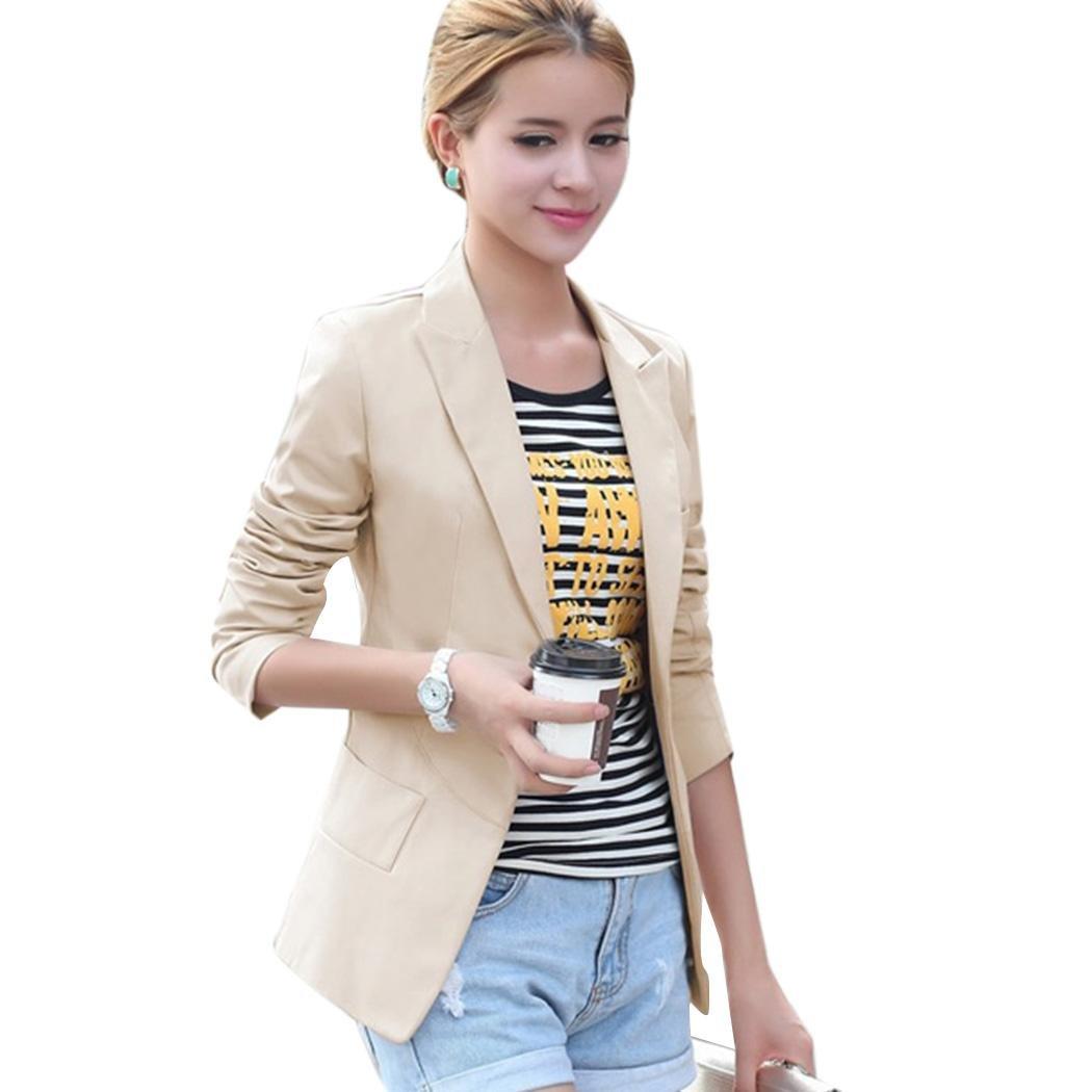 Creine Blazers Jackets for Women Business Professional Attire Casual Jackets