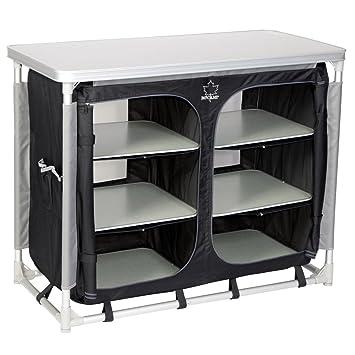 BoCamp Küchenschrank Deluxe wasserdicht, verstellbare Füße, 49x100 ...