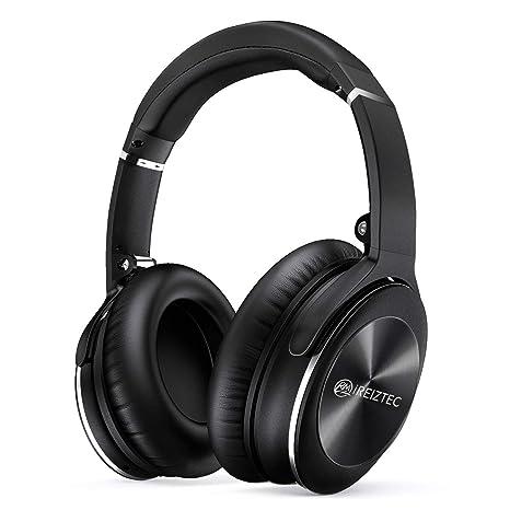 9861eefbde6 Bluetooth Wireless Headphones Over Ear Noise Cancelling Foldable Headset  HI-FI Stereo Superior Deep Bass