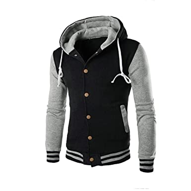 Coat Jacket Fashion Solid Outerwear & Coats Winter Slim V-Neck Warm Mens Jacket Chaqueta