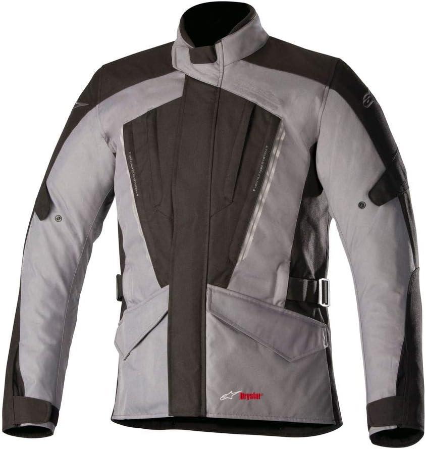 S Black Motorcycle jackets Alpinestars Volcano Drystar Jacket Black