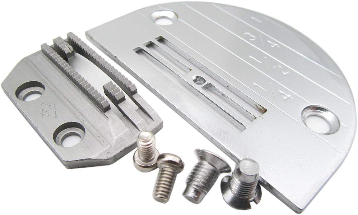 50pcs Universal Industrial Sewing Machine Needle Plate Screws Stainless Steel