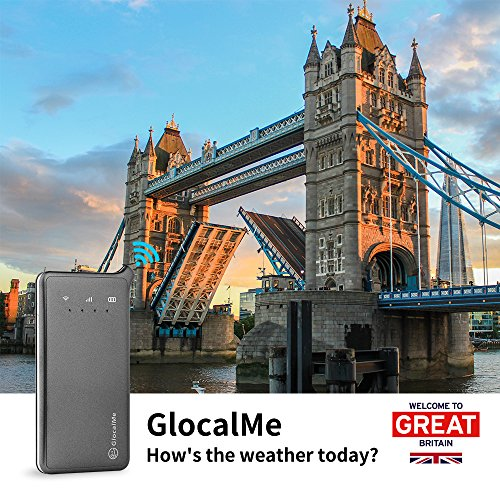 GlocalMe U2 4G Mobile Hotspot - WiFi Hotspot with 6GB Data for UK DE IT FR ES by GlocalMe (Image #1)