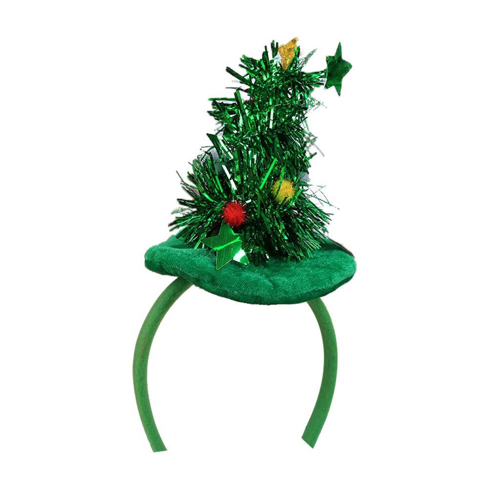 Christmas Bell Reindeer Antlers Alice Hair Band Xmas Headband Deeley Bopper