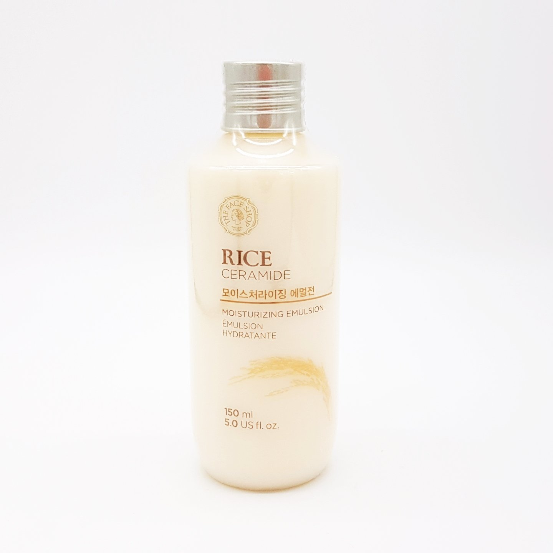 Rice & Ceramide Moisture Toner-the Face Shop for All Skin Types