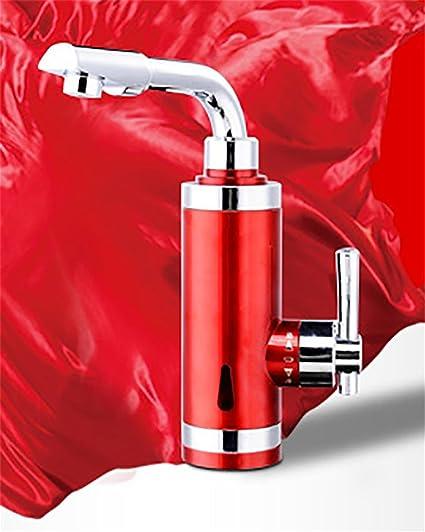 Faucet Kevin Grifo de Agua Caliente Instantáneo 220v 3000w Calentador de Agua Grifo Cocina Calentador de
