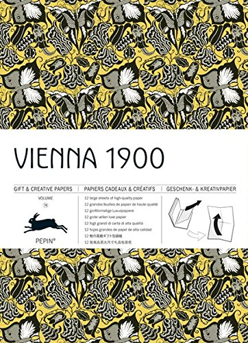 Gift Wrap Book Vol. 74 - Vienna 1900 (Gift & Creative Paper Books) (English, Spanish, French, Italian and German Edition)