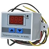KKmoon XH-W3001 温度コントローラー デジタル LED センササーモスタット 高精度 加熱冷却制御スイッチ付 220V / 24V / 12V