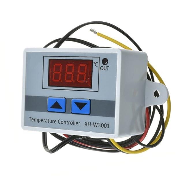 Amazon.com: Walmeck XH-W3001 Digital LED Pre-wire Cool/Hot ...