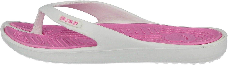 Ladies Eva Toe Post Flip Flop Surf Sandals New Summer Flat Beach Shoe Navy//Blue Black//Red Turquoise