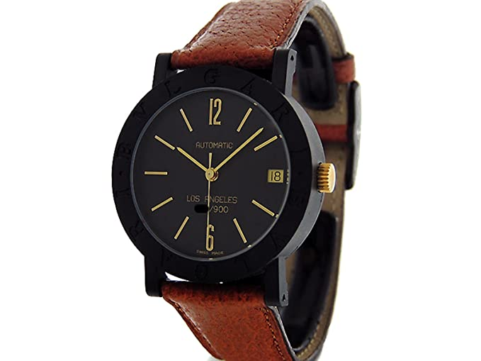 ed83c23861e Bvlgari Bvlgari swiss-automatic Mens Reloj bb33vlp La (Certificado) de  segunda mano  Bvlgari  Amazon.es  Relojes
