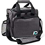 Agile Life Designs Large Lunchbox, Premium Quality Men and Women's Insulated Bag with 2 Mesh Bottle Pockets
