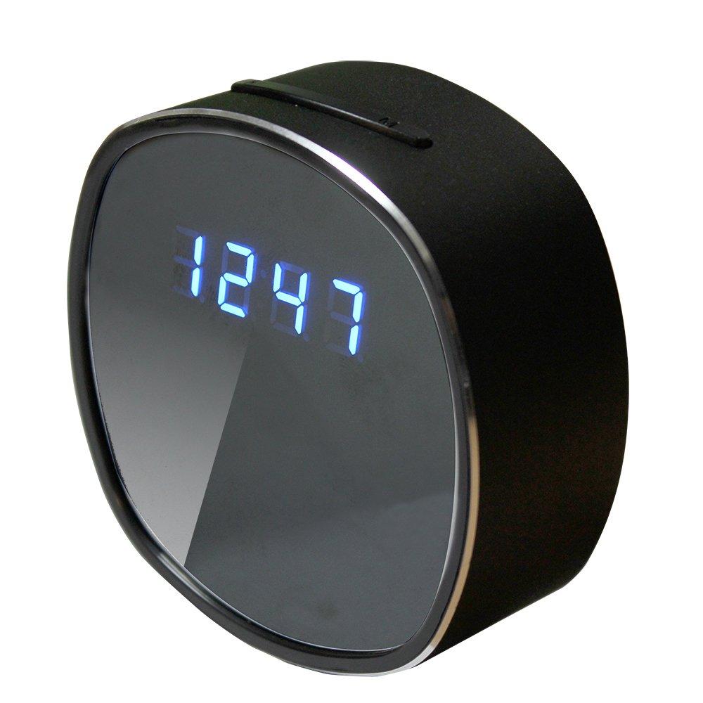 【Amazon.co.jp限定】匠ブランド Wi-Fi置時計型ビデオカメラ iRound スマホ対応MicroSDカードリーダー付き B07D79KQY2