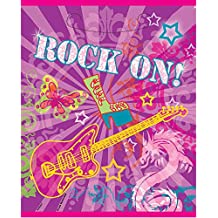 Rock On Girls Party Goodie Bags, 8ct