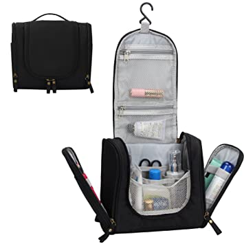 dcb4938996 Amazon.com  Madholly Travel Hanging Toiletry Bag