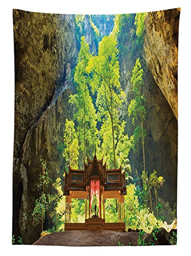 natural-cave-decorations-tablecloth-latent-pavilion-in-between-the-cliffs-discovery-of-faith-in-the-