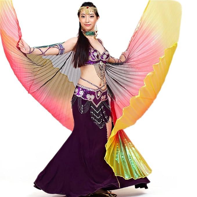 Amazon.com: BellyLady danza del vientre disfraz Isis Alas ...