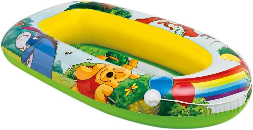Intex - Barca hinchable, diseño winnie the pooh, 119 x 79 cm ...