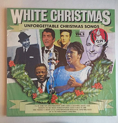 A German Christmas Dinner - Rare White Christmas Unforgettable Christmas Songs Volume 2 : Sinatra Elvis Bing and More! : West German Import Scana 27023 : Comes with a CD Transfer