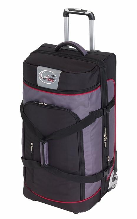 Trolley bolsa de viaje bolsa de deporte 89 L, con 2 ruedas y ...