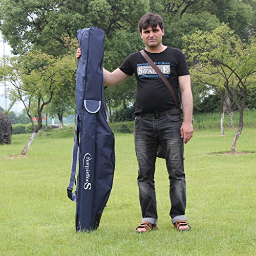Sougayilang 1.7m/5.58ft Soft Fishing Rod Case Carrier Bag