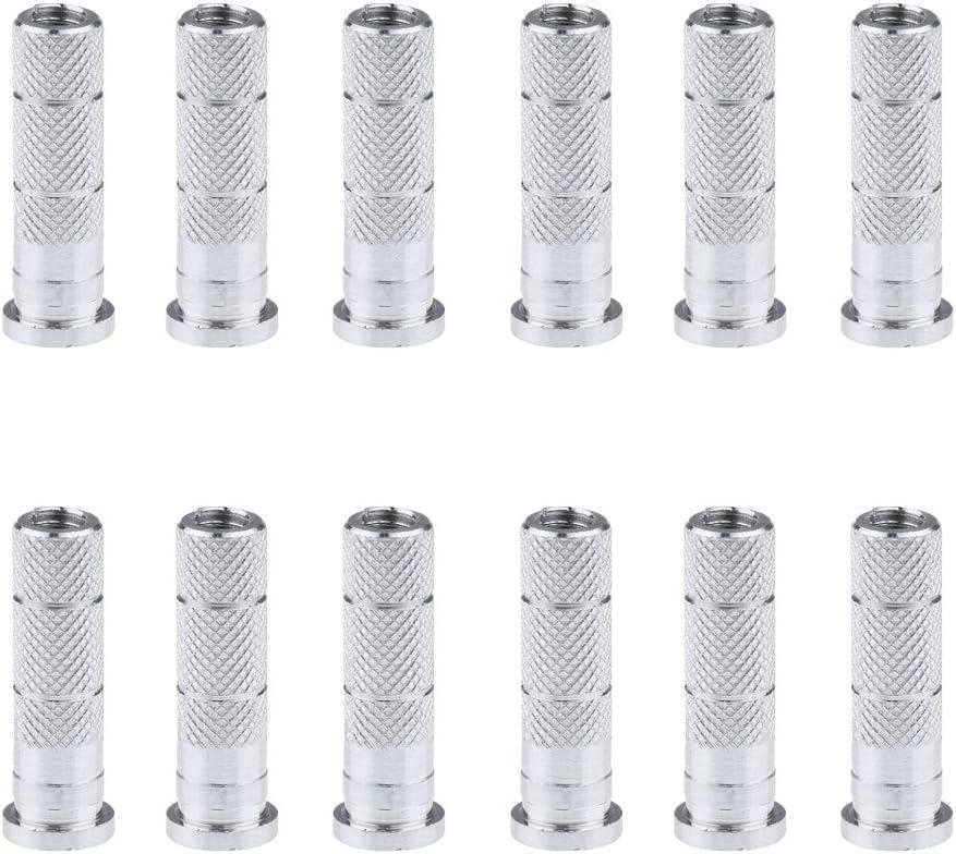 Sharplace 24pcs Inserts de Fl/èche 6.2mm en Aluminium /Équipement de Tir /à Larc
