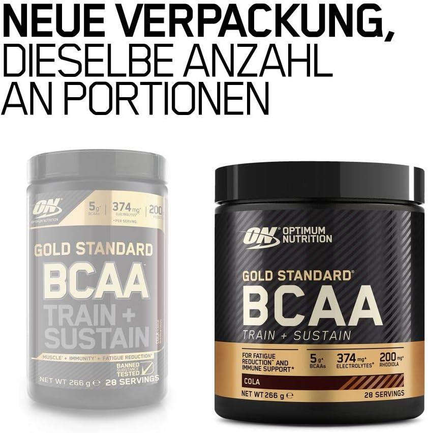 Optimum nutrition Gold Standard Bcaa Pulver Aminos Zug und Sustain 28 Portionen