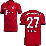 Adidas FC Bayern München Heimtrikot 2018 2019 mit Spieler Name