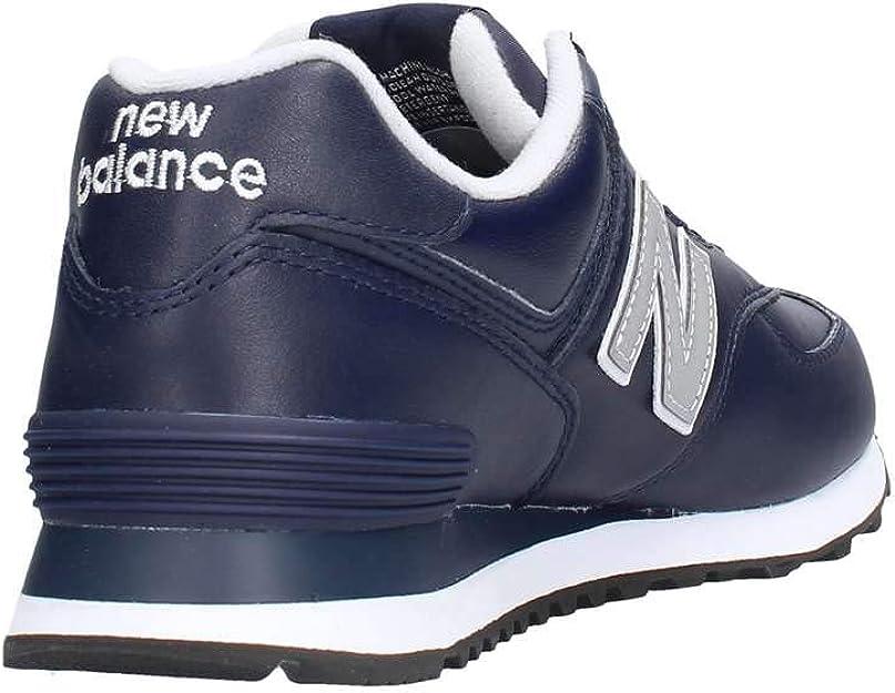 new balance 574 uomo leather