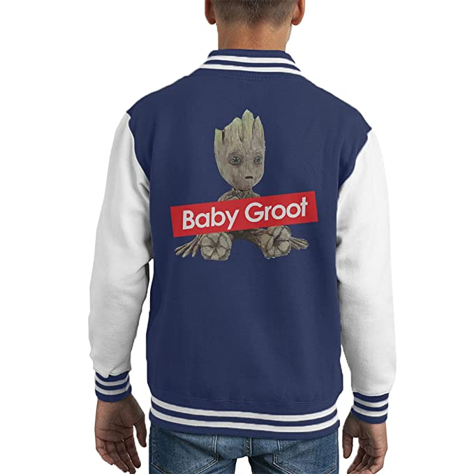 Guardians Of The Galaxy Baby Groot Supreme Kids Varsity ...