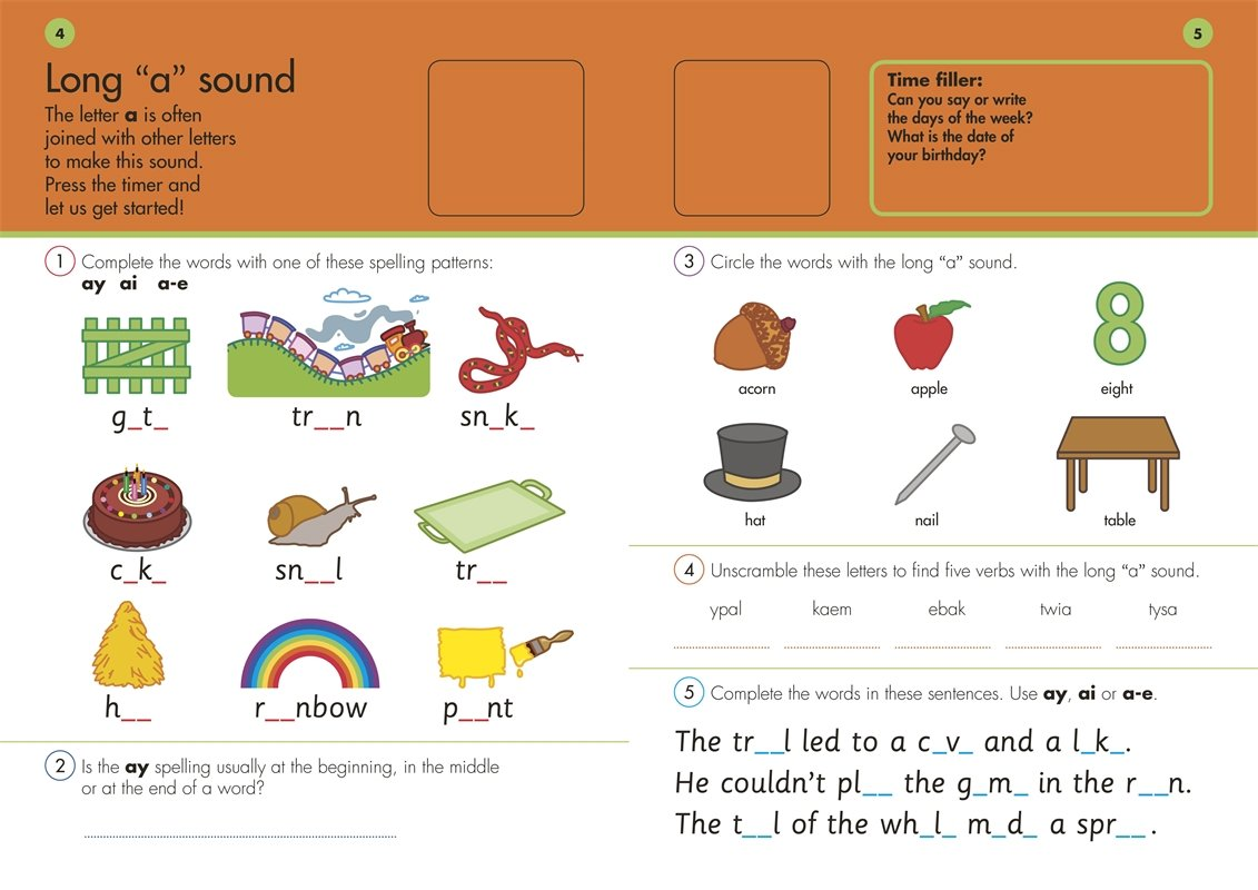 10 Minutes a Day: Spelling, Second Grade: DK: 0790778017149: Amazon.com:  Books